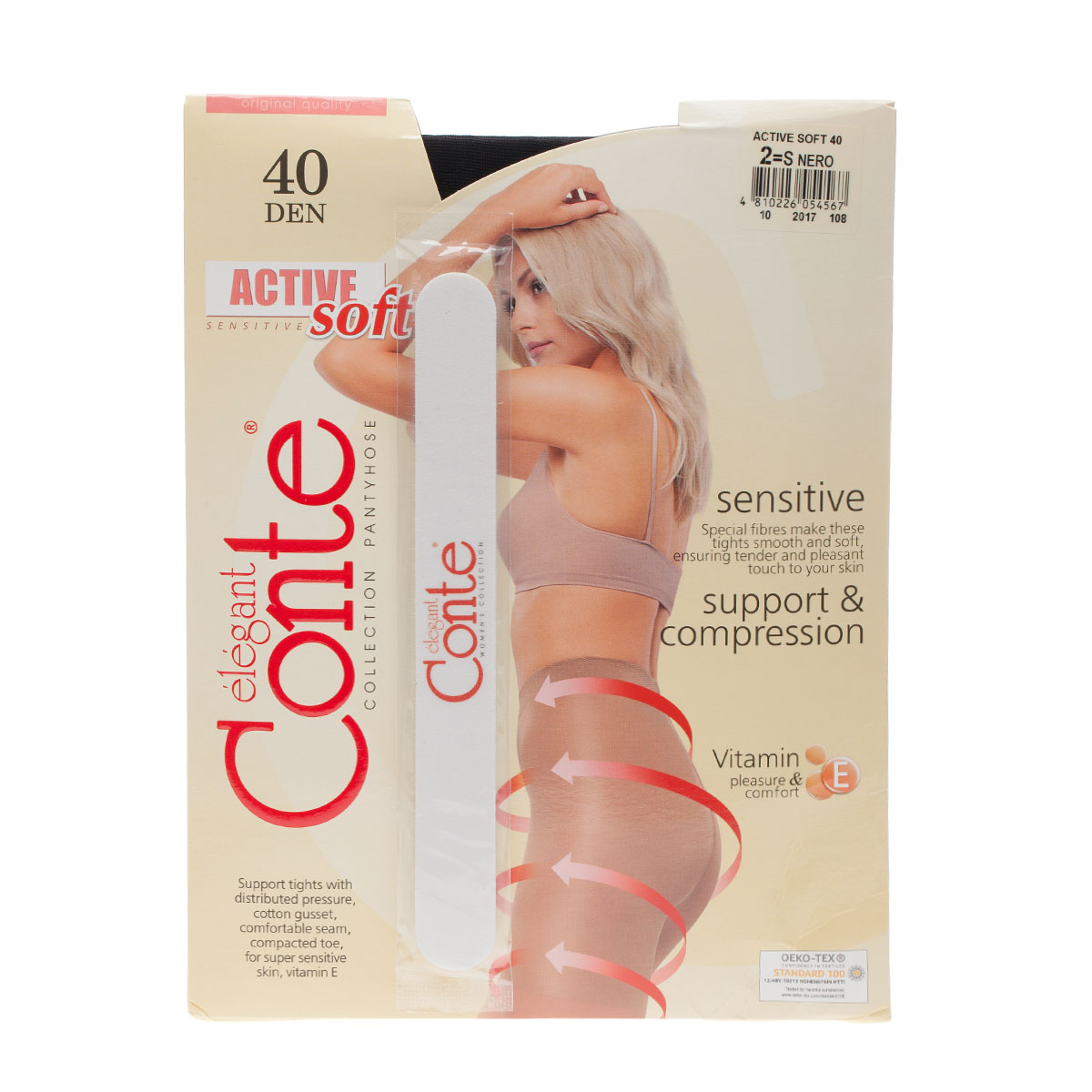 Колготки Conte elegant, Active soft 40